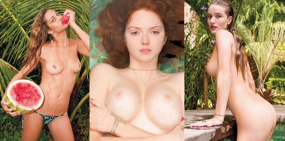 Zum Vergleich: Skandalfotograf Terry Richardson inszenierte berühmte Models in fast pornografisch anmutenden Posen für den Pirelli Kalender 2010.