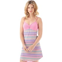 Urban Beach Damen Kleid Pink