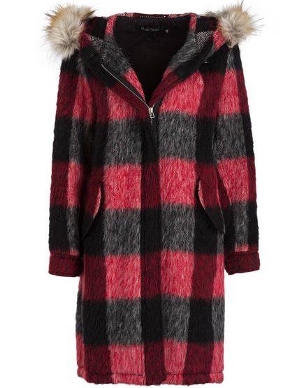Cappotto di lana MARC AUREL con alpaca