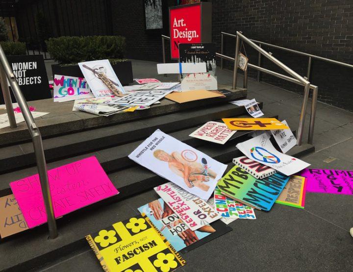 Anti Trump Demo in New York - Manhattan