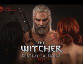 Der Witcher: Cosplay Kalender 2017