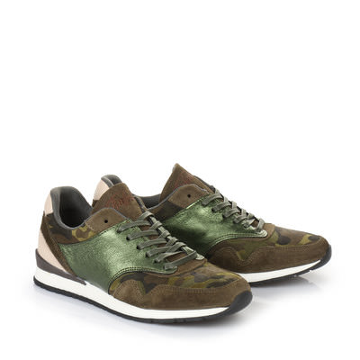 Sneaker in camouflage
