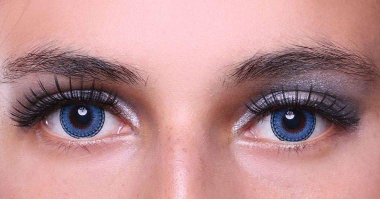 Farbige Kontaktlinsen für das Partywochenende