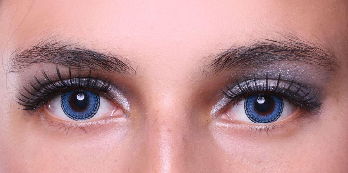 Värvilised kontaktläätsed