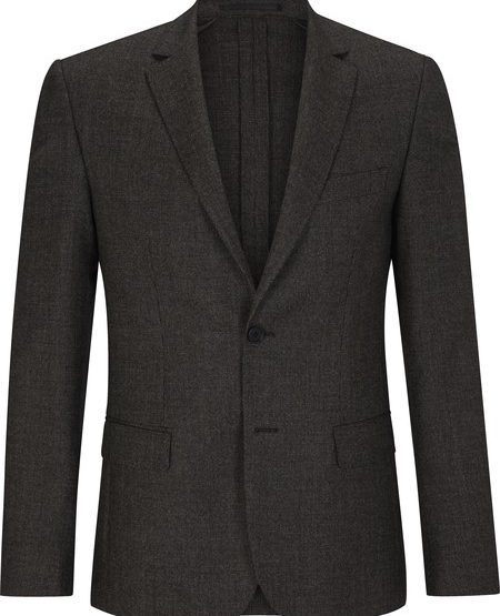 New wool slim-fit jacket