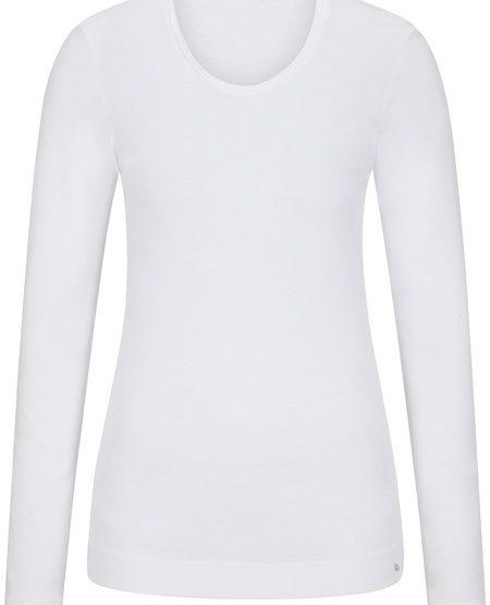Langarm-Shirt aus Baumwolle