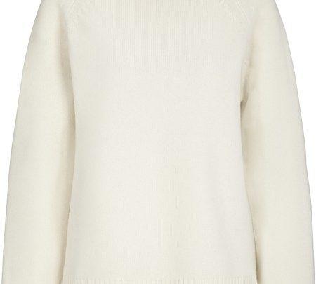 Pullover aus Wolle-Kaschmir-Garn