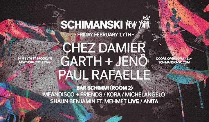 New York Clubhopping: Schimanski New York Part I