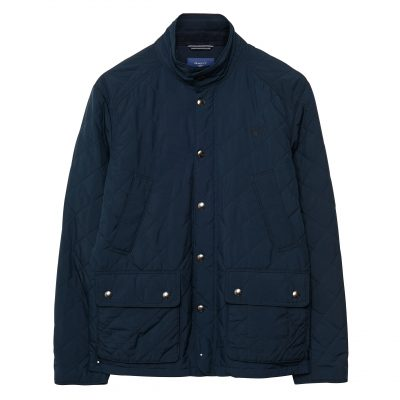 GANT Central Pond Steppjacke - Blau
