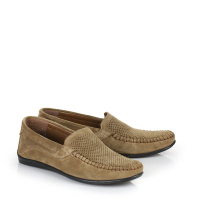 Herren-Slipper in beige