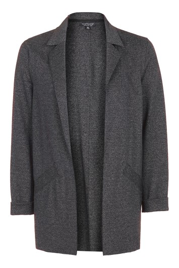 Jersey boyfriend-jacket - anthracite