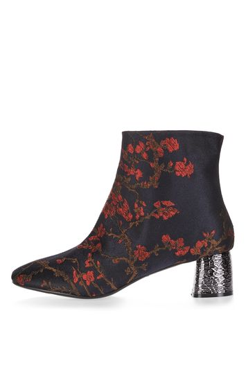 Heeled ankle boot bumble - multi