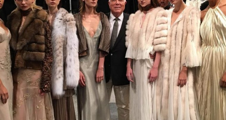 New York Fashion Week Fall Winter 2017 - Dennis Basso