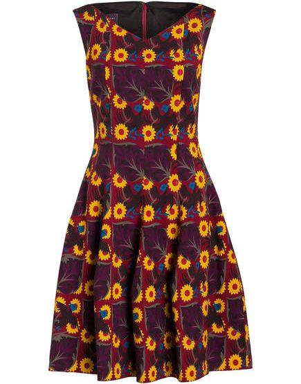 TALBOT RUNHOF DRESS GOMMA
