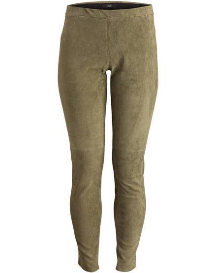 STEFFEN SCHRAUT Velour leather leggings