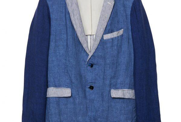 GANT Rugger Sakko mit Patchwork-Muster - Blau