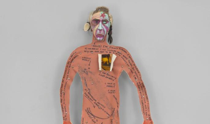 Jimmie Durhams Kunst aus Müll