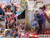 Make Love not Walls: David LaChapelle für Diesel