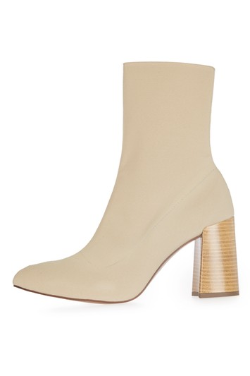 HOLLYWOOD Boots with tight shaft - beige