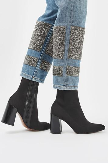 HOLLYWOOD Stiefel mit schmalem Schaft - Schwarz
