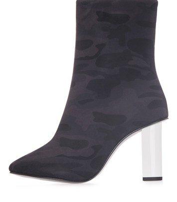 MATCHSTICK Stiefel mit Tarnmuster - Navy Blau