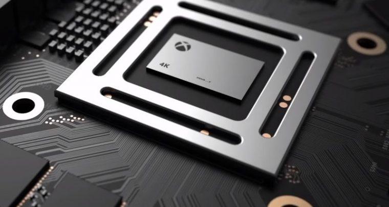 X-Box One Scorpio - Web cun dati di prestazione di a consola 4K liberatu