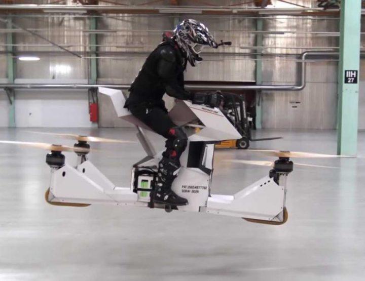 Hoversurf – Das schwebende Hoverbike für Extremsportler