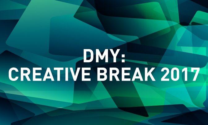 DMY - Das International Design Festival in der Kreativpause