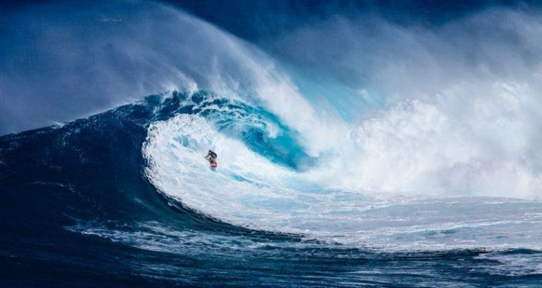 Adrenalin- Surfen mit der gefährlichsten Welle der Welt