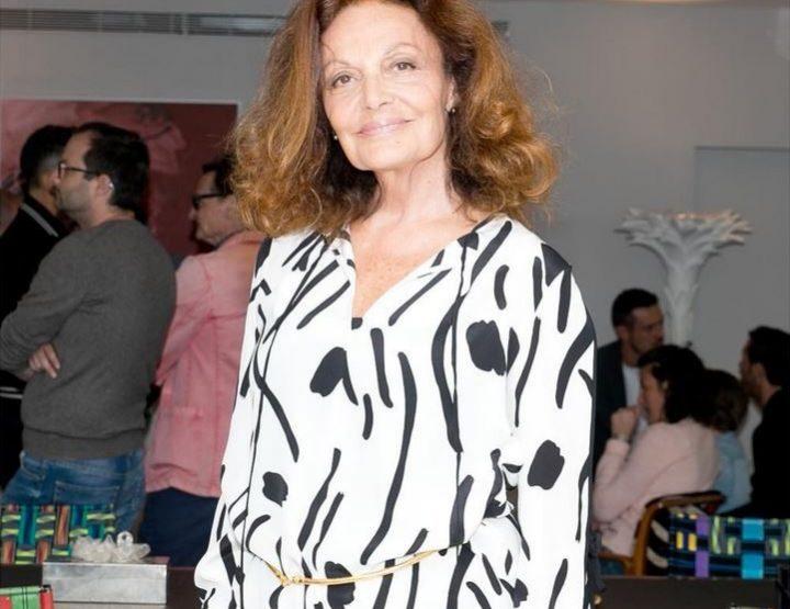Luxuriöse Ethno-Mode bei Diane von Furstenberg