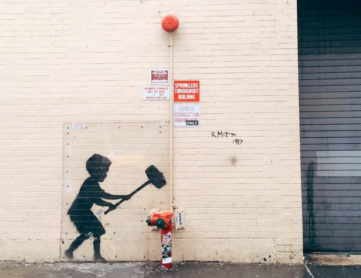 The Art of Banksy in Berlin