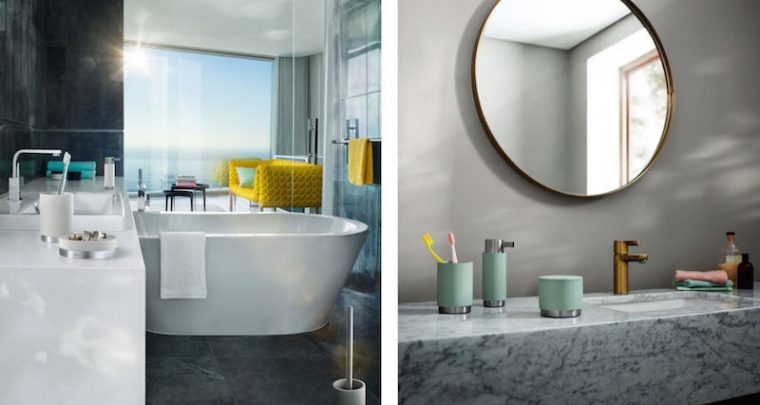 PURE SPA – Color up your bath with blomus