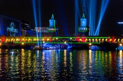 Lichtfestival Berlin leuchtet 2017