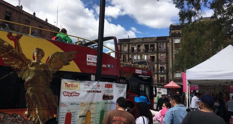 Impressionen - Mexico City Bustour