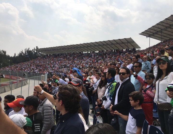 Formula 1 - Città di Messico: Sebastian Vettel cumbatte dura