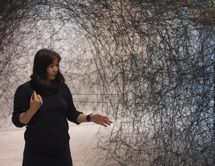 Näituse näpunäide - Chiharu Shiota