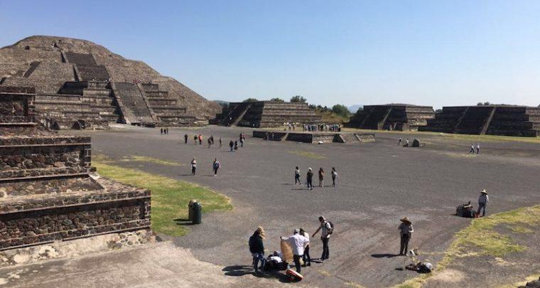 Die Pyramiden von Teotihuacan