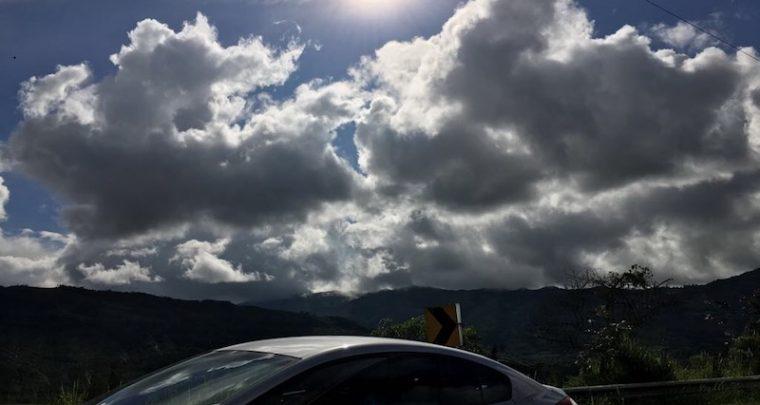 Der Weg von Bogota nach Medellin