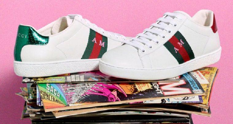 Personalisiere deine Gucci-Sneaker