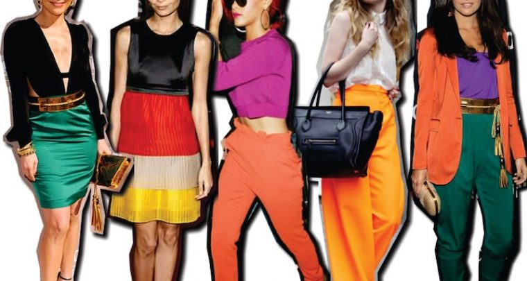 Questu hè u novu Stile 2018 - Colour-Blocking!
