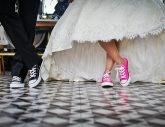 Endlich: Sneaker für Bräute