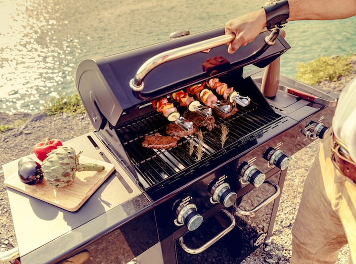 Grill enjoyment as in South America with the Wesco Grill Asador 54