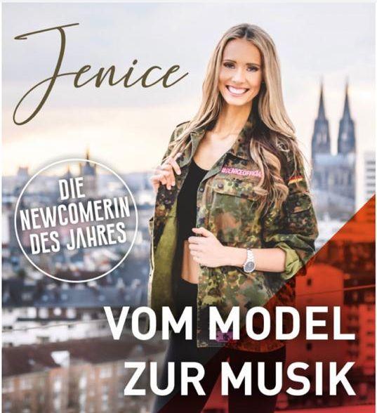 """""""JENICE"""" – """"Die Newcomerin des Jahres 2020! – Vom Model zur Musik!"""""""