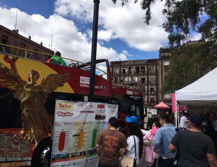 Bellu impressioni - Viaghju in autobus à Mexico City!