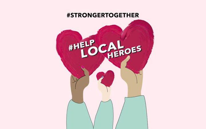 Stampa di stampa: #Helplocalheroes: Douglas sustene e piccule imprese è i saluti impiegati!