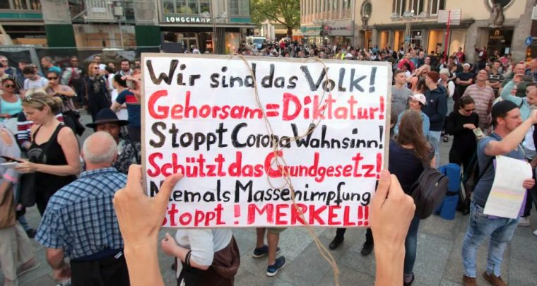 Anti-Corona Demonstrationen in Deutschland – Die Stimmung kippt!