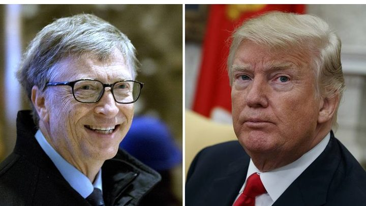 BILL GATES VS. DONALD TRUMP!