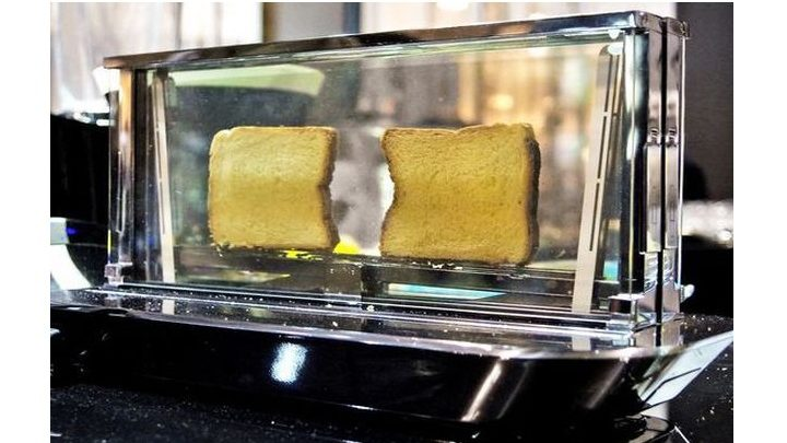 This Glass Toaster Costs $1,000—But It Can Cook Steak!