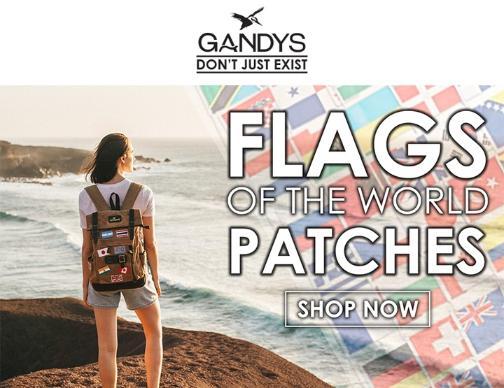Introducing the Flags of the World Patches! – By