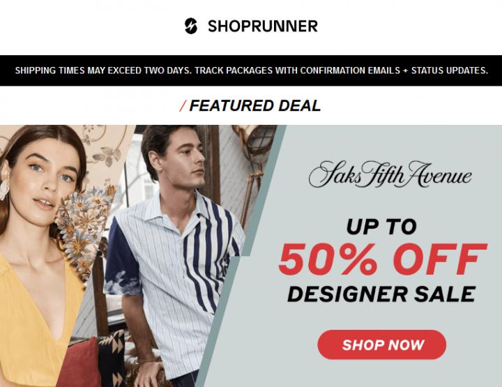 ShopRunner esitleb